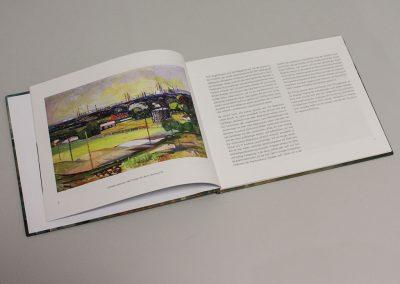Gestaltung und Herstellung Hardcoverbuch