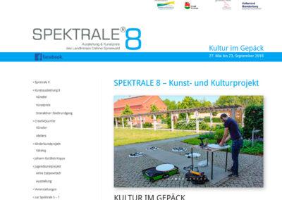 wieloch druck & verlag | Internetprogrammierung, Gestaltung und Programmierung der Homepage Spektrale, des Landkreises Dahme-Spreewald
